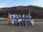 岡山県中学硬式野球選手権大会で優勝しました。
